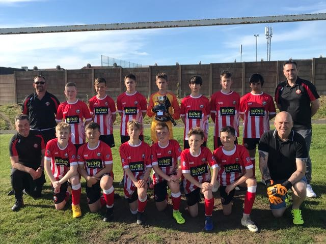 Saltash Football Clubs U13 Team WIN County Champions!