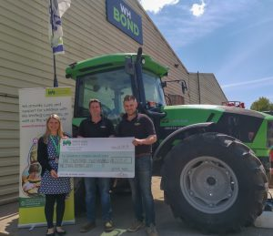 £2,203 Donated to Children's Hospice South West