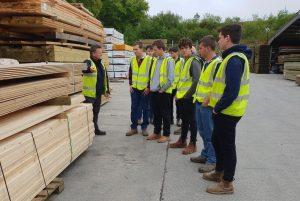 Duchy College Visit Bond Timber