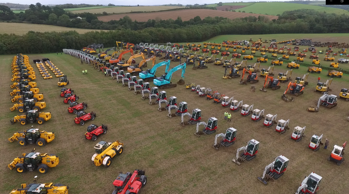 You are currently viewing The Largest Plant & Agricultural Machinery Sale in the South West