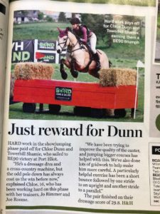 WH Bond Sponsors Port Eliot Horse Trials