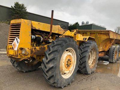 Muir Hill 101 Tractor & 20T Dump Trailer RARE Hydra Hitch