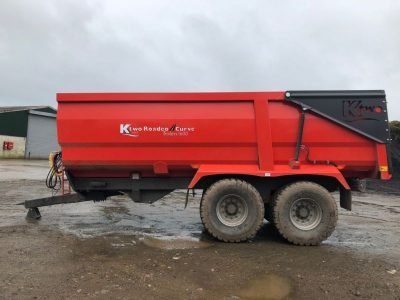 2018 Ktwo 1600 Curve Trailer