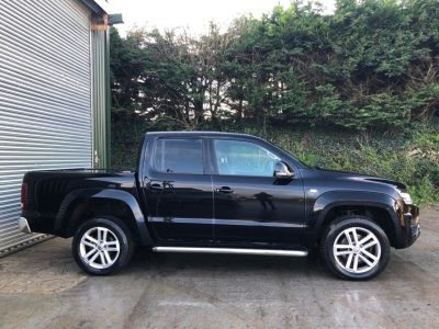 2018 Black Volkswagen Amarok Highline V6 TDi 4Motion