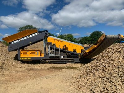 2020 Barford SR124 Screener