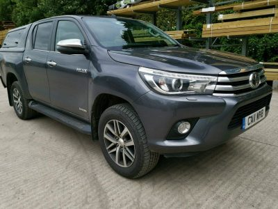 2019 Toyota Hilux 2.4M Invincible 3.5t Eco