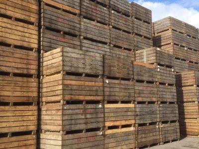 2010 Wooden Potato Boxes 1 Tonne