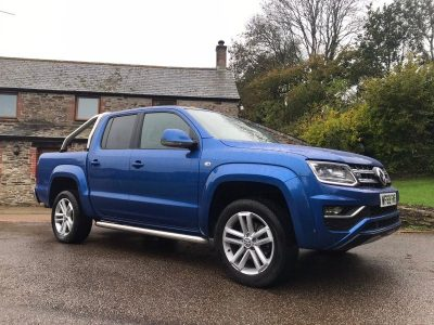 2019 Volkswagen Amarok V6 Highline Blue