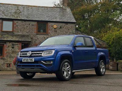 2019 Volkswagen Amarok V6 Highline Blue