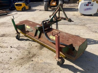 1995 Sutton 7ft Hydraulic Sweeper,