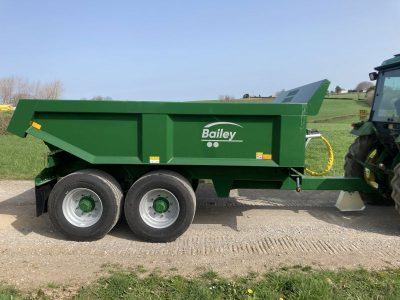 2021 Bailey 10T Dump Trailer