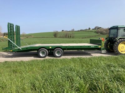 2021 Bailey 23ft Plant Trailer
