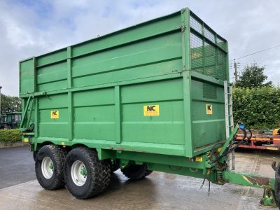 2009 NC 12T Silage Trailer