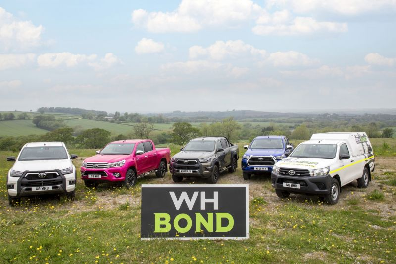 You are currently viewing New Hilux the Perfect Pick-up x 200 for Family Business W.H. Bond and Sons