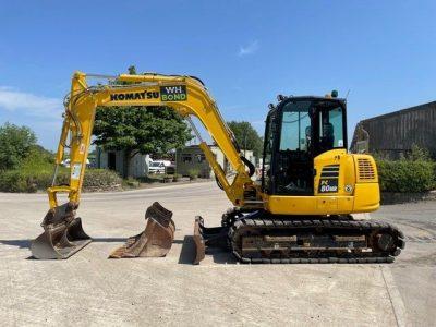 2019 Komatsu PC80MR-5 Excavator